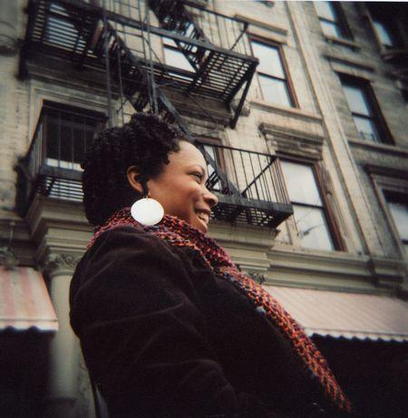 Andrea in Harlem