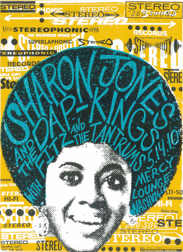Sharon Jones Concert Poster