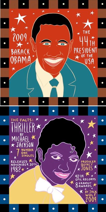 Obama & Mike Jackson