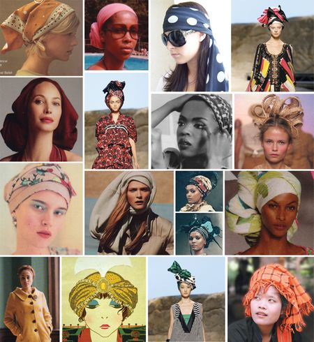 Head Wraps, Turbans, and Scarves