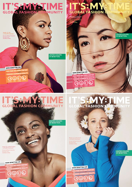 Benetton's It's My Time