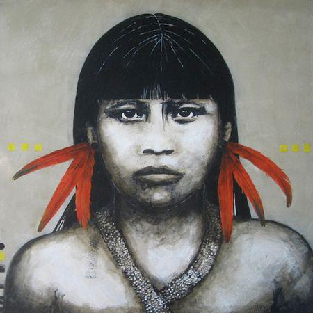 Brazilian artist, Ana Metsavaht