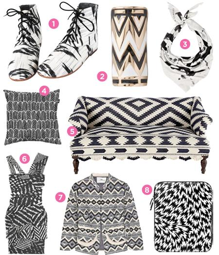 Black White Pattern