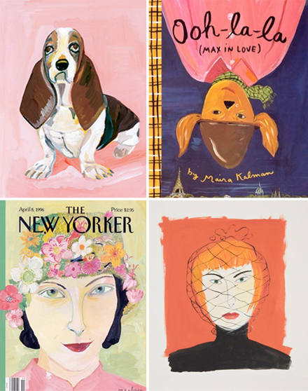 Ms. Kalman's twelve children's books include Max Makes a Million, Stay Up  Late, Swami on Rye, and What Pete Ate. She also has designed fabric for  Isaac ...