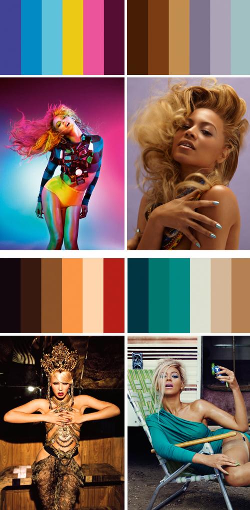Beyonce-palettes