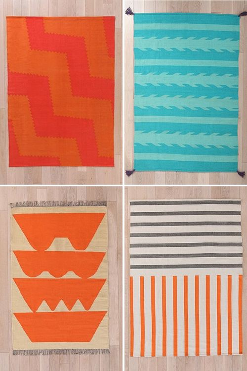 Rugs from Urban Outfitters