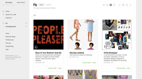 Fly-feedly
