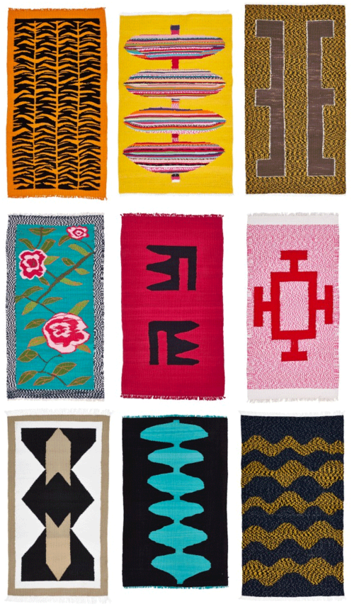 Nandi-rugs