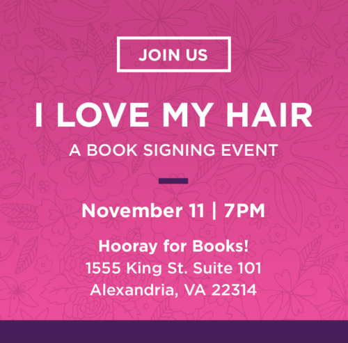 I Love My Hair Book Events