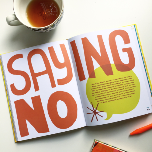 We Inspire Me: Saying No